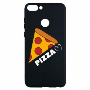 Etui na Huawei P Smart Serce miłość pizzy