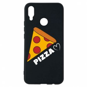 Etui na Huawei P Smart Plus Serce miłość pizzy