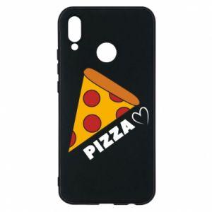 Etui na Huawei P20 Lite Serce miłość pizzy