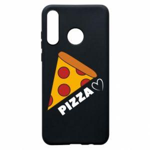 Etui na Huawei P30 Lite Serce miłość pizzy