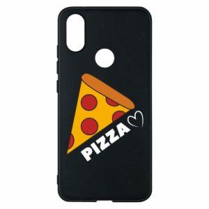 Etui na Xiaomi Mi A2 Serce miłość pizzy