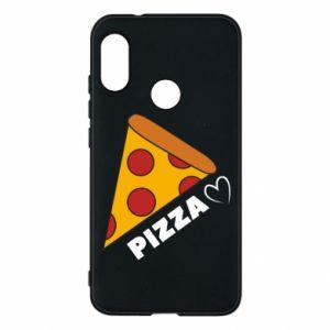 Etui na Mi A2 Lite Serce miłość pizzy