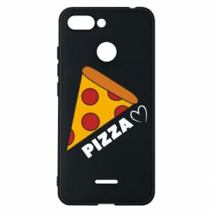 Etui na Xiaomi Redmi 6 Serce miłość pizzy