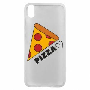 Etui na Xiaomi Redmi 7A Serce miłość pizzy