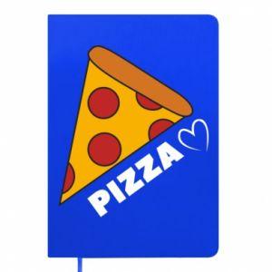 Notes Serce miłość pizzy