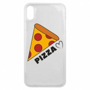 Etui na iPhone Xs Max Serce miłość pizzy