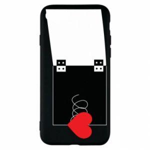 Etui na iPhone SE 2020 Serce na sprężynce