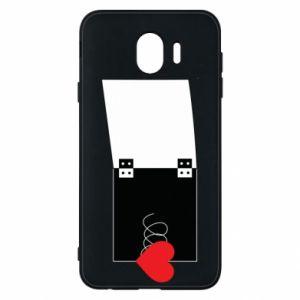 Etui na Samsung J4 Serce na sprężynce - PrintSalon