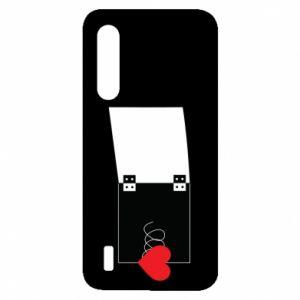 Etui na Xiaomi Mi9 Lite Serce na sprężynce