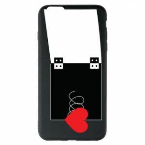 Etui na iPhone 6 Plus/6S Plus Serce na sprężynce - PrintSalon