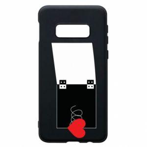 Etui na Samsung S10e Serce na sprężynce - PrintSalon