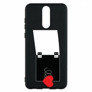 Etui na Huawei Mate 10 Lite Serce na sprężynce - PrintSalon
