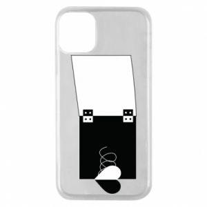 Etui na iPhone 11 Pro Serce na sprężynce