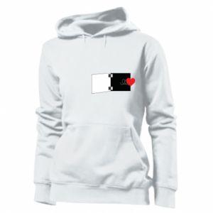 Damska bluza Serce na sprężynce - PrintSalon