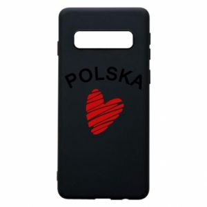 Etui na Samsung S10 Serce Polska