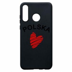 Etui na Huawei P30 Lite Serce Polska