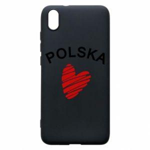 Etui na Xiaomi Redmi 7A Serce Polska