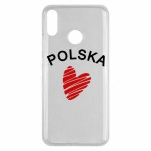 Etui na Huawei Y9 2019 Serce Polska