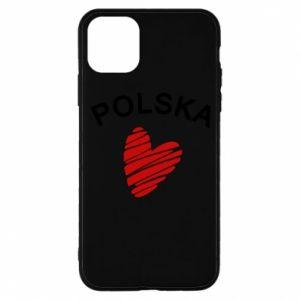 Etui na iPhone 11 Pro Serce Polska