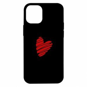 Etui na iPhone 12 Mini Serce Polska