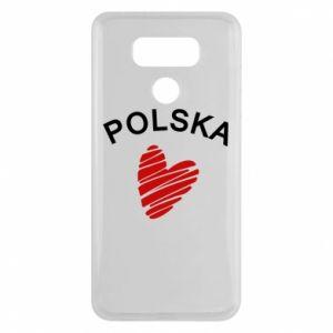 Etui na LG G6 Serce Polska