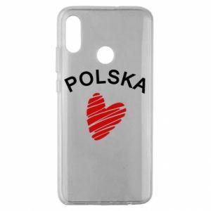 Etui na Huawei Honor 10 Lite Serce Polska