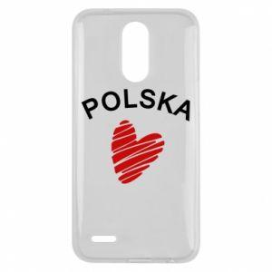 Etui na Lg K10 2017 Serce Polska