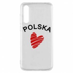 Etui na Huawei P20 Pro Serce Polska