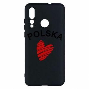 Etui na Huawei Nova 4 Serce Polska