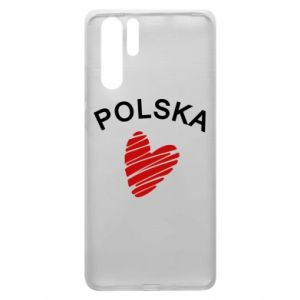 Etui na Huawei P30 Pro Serce Polska