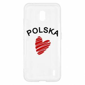 Etui na Nokia 2.2 Serce Polska