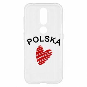 Etui na Nokia 4.2 Serce Polska