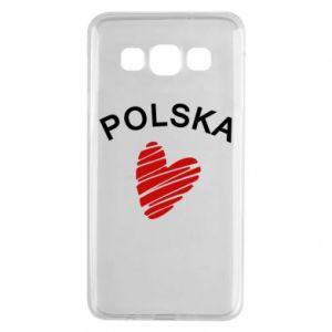 Etui na Samsung A3 2015 Serce Polska