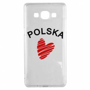 Etui na Samsung A5 2015 Serce Polska