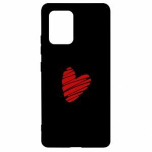 Etui na Samsung S10 Lite Serce Polska