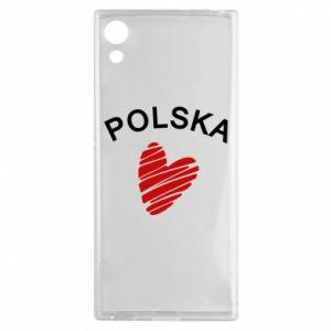 Etui na Sony Xperia XA1 Serce Polska