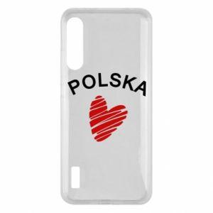 Etui na Xiaomi Mi A3 Serce Polska