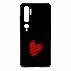 Etui na Xiaomi Mi Note 10 Serce Polska