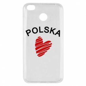 Etui na Xiaomi Redmi 4X Serce Polska