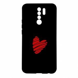 Etui na Xiaomi Redmi 9 Serce Polska