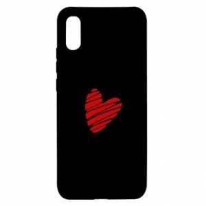 Etui na Xiaomi Redmi 9a Serce Polska