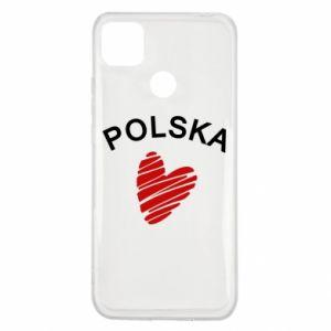 Etui na Xiaomi Redmi 9c Serce Polska
