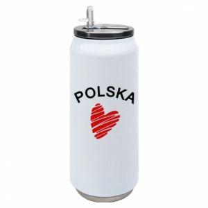 Puszka termiczna Serce Polska
