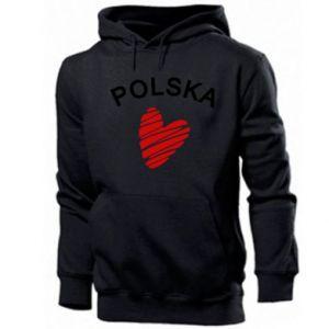 Bluza z kapturem męska Serce Polska