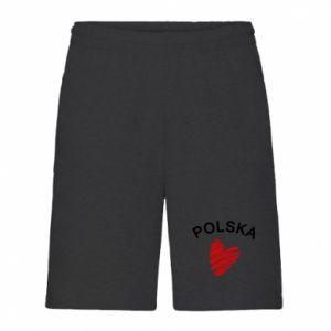 Szorty męskie Serce Polska