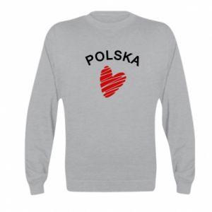 Bluza dziecięca Serce Polska