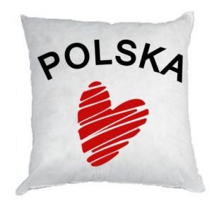 Poduszka Serce Polska