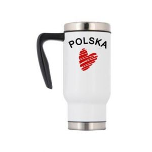 Kubek termiczny Serce Polska