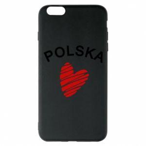 Etui na iPhone 6 Plus/6S Plus Serce Polska