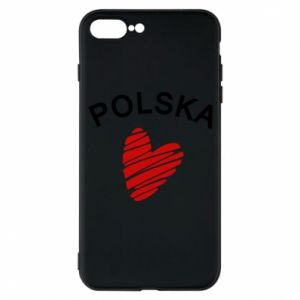 Etui do iPhone 7 Plus Serce Polska